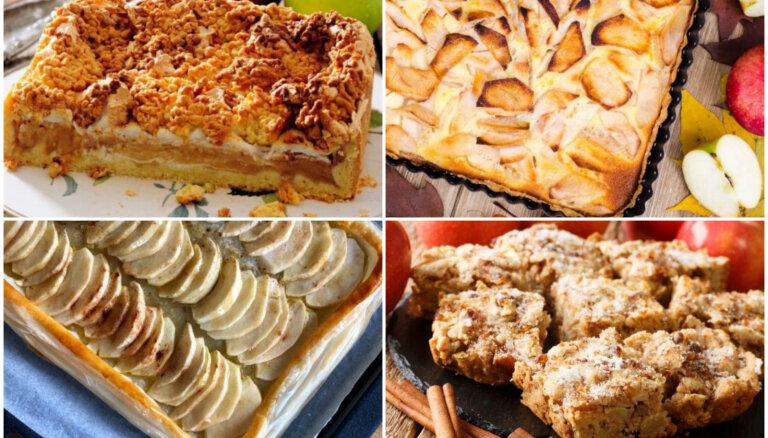 Ābolu sezonas hits  –  sulīga plātsmaize: 10 receptes, ko izmēģināt vēl šovasar