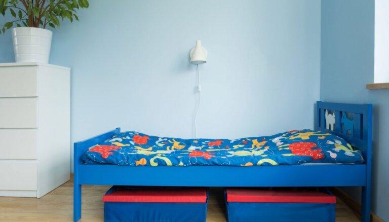 Feinas idejas, kā izmantot vietu zem gultas bērnistabā