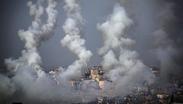 Gazas joslā Izraēlas uzlidojumos nogalināti palestīnieši
