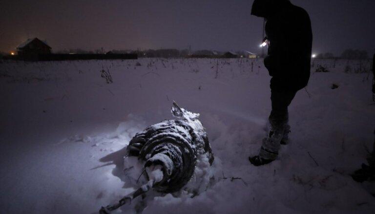 Глава МЧС России рассказал о поисковой операции на месте крушения самолета Ан-148