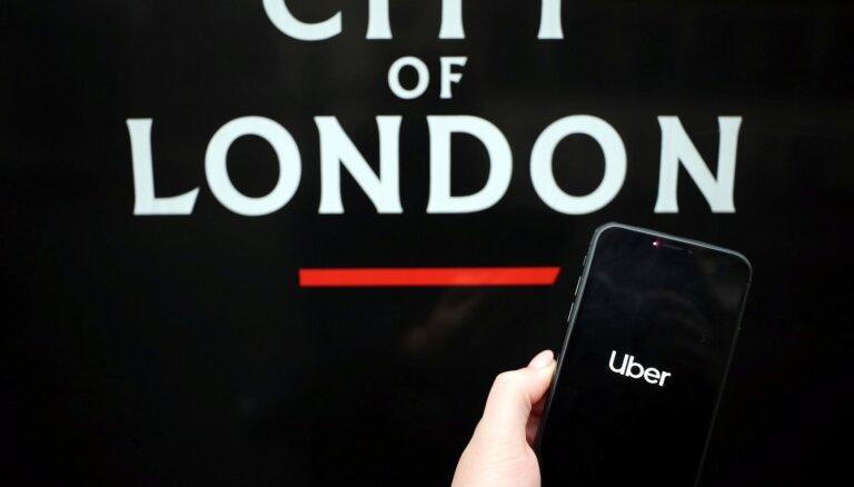 Neatjauno 'Uber' darbības licenci Londonā