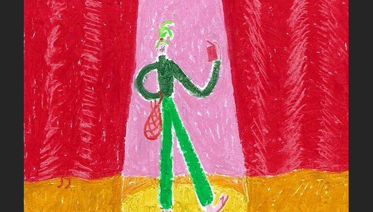 Izdota Kārļa Vērdiņa grāmata bērniem – poēma 'Dilles tante'
