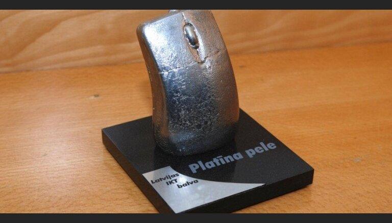Aicina pieteikties IKT nozares gada balvai 'Platīna pele 2020'