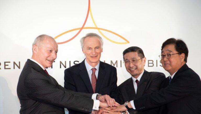 'Renault', 'Nissan' un 'Mitsubishi' paziņo par kopīgas padomes veidošanu