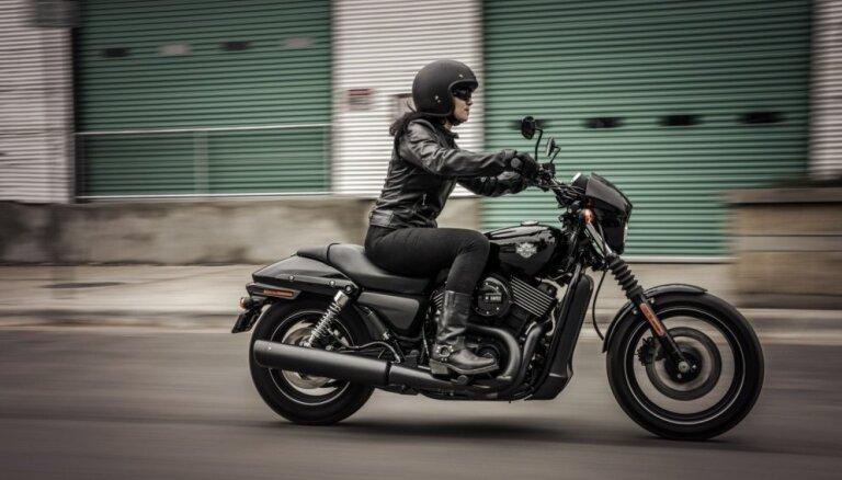 Foto: 'Harley-Davidson' jaunumi 2017. modeļu gadam