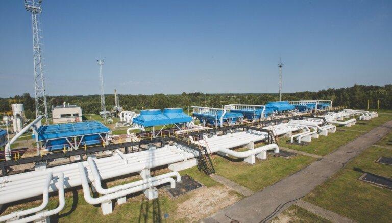 Sākta 88 miljonu eiro vērtā Inčukalna pazemes gāzes krātuves modernizācija
