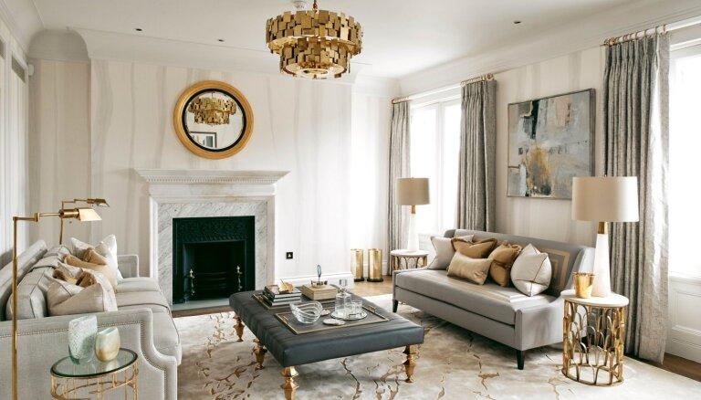 Foto: 22 miljonus vērtais luksusa dzīvoklis kaimiņos Anglijas karalienei