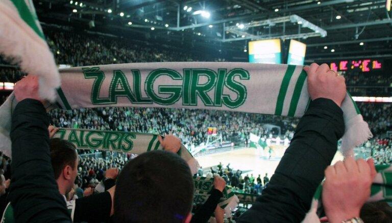 'Žalgiris' basketbolisti nonāk vienas uzvaras attālumā no Lietuvas čempionu titula
