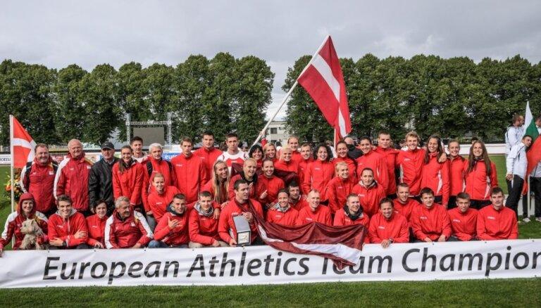 Paziņots Latvijas vieglatlētikas izlases sastāvs Eiropas komandu čempionātam