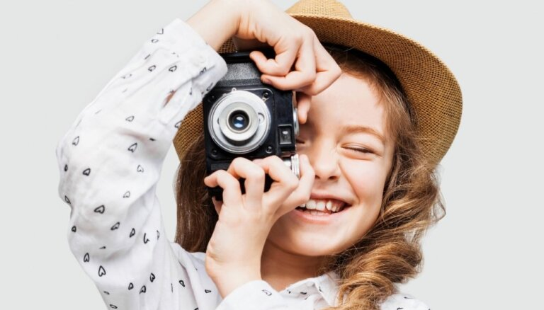 Aicina bērnus uz radošo nodarbību Latvijas Fotogrāfijas muzejā