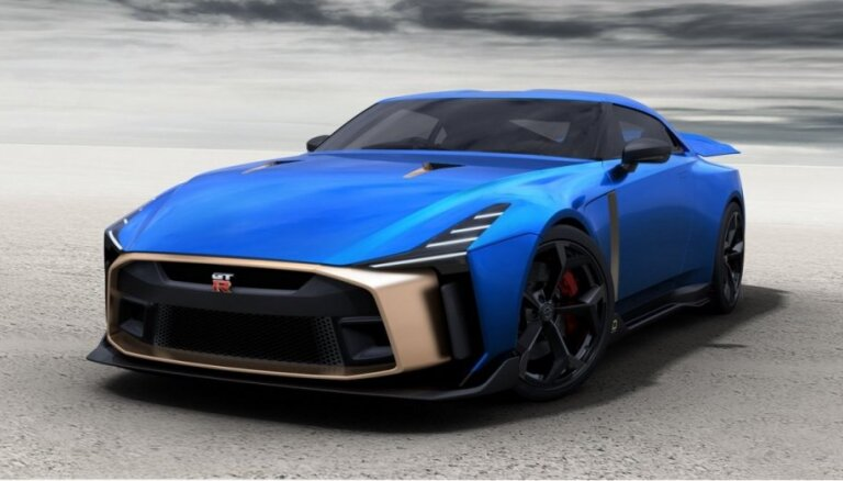 'Nissan' ražošanā ieviesis 'GT-R50' par 990 tūkstošiem eiro
