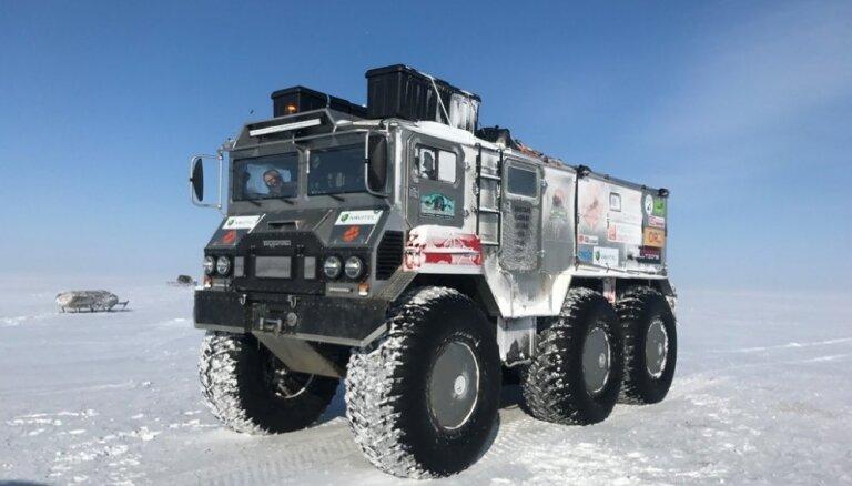 No ekspedīcijas uz balto lāču zemi līdz izstādei 'Auto 2019' Ķīpsalā