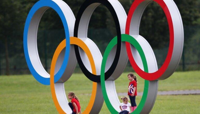 Par neatļautu olimpiskās simbolikas izmantošanu Indonēzijai var atņemt Āzijas spēles