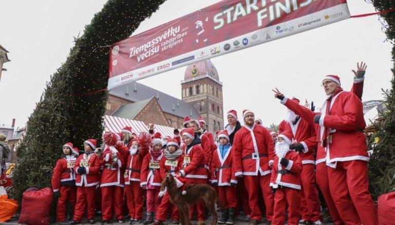 Ziemassvētku vecīša skrējienā vāks līdzekļus bērniem ar kustību traucējumiem