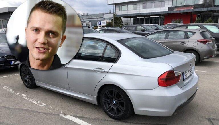 Dziedošais policists Puzikovs par pievilcīgu cenu tirgo savu BMW