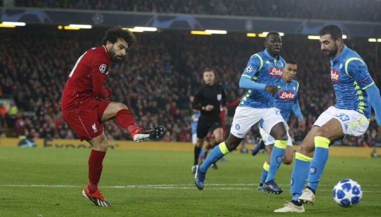 PSG, 'Liverpool' un 'Hotspur' dramatiski sasniedz Čempionu līgas 'play-off'