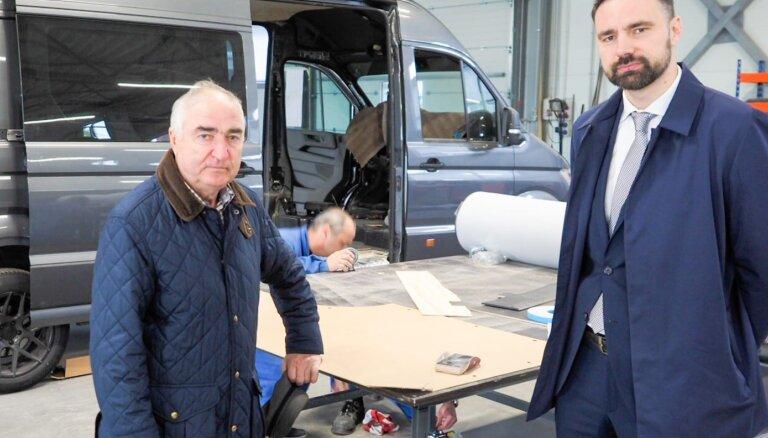 Mikroautobusu pārbūves uzņēmums 'Universāls LTD' attīstībā investē 1,3 milj. eiro