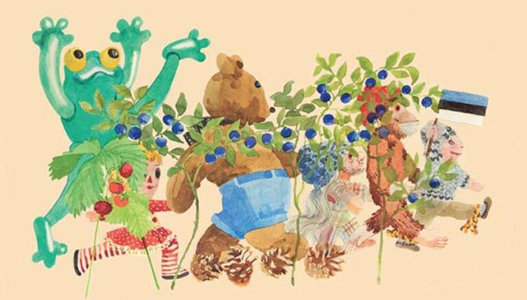 Izdota jauna bērnu grāmata par lellēm, kas no Igaunijas bēg uz Latviju