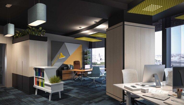 'Z-Towers' izveido jauna koncepta birojus
