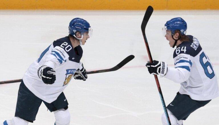 PČ mājiniecei Krievijai pusfinālā neizdodas apturēt Somiju