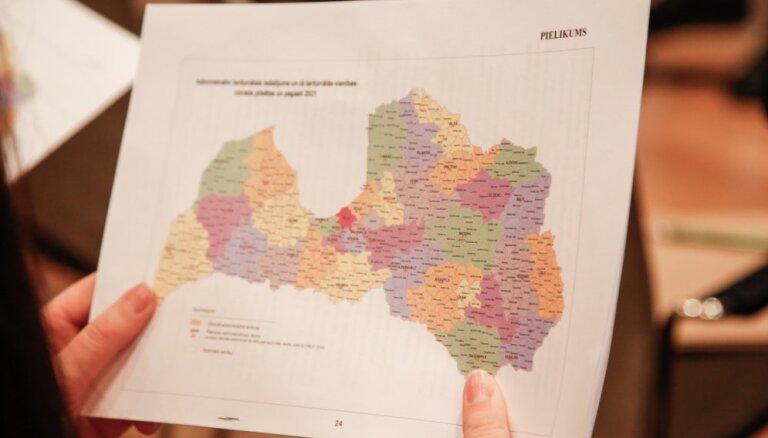 LPS lūgs VARAM pārstrādāt un papildināt teritoriālās reformas piedāvājumu