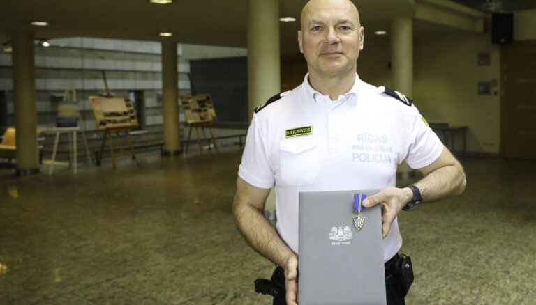 'Gada policists 2018' titulu saņem inspektors Māris Maļinovskis