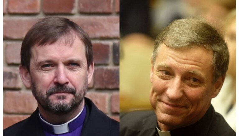Vairot cilvēcību un atrast mieru Ziemassvētkos vēl arhibīskapi Stankevičs un Vanags