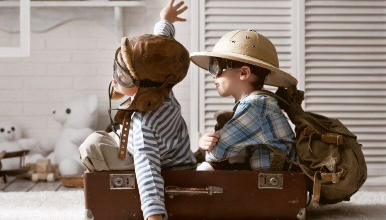 Bērnu istaba diviem. Idejas istabas iekārtošanai, lai strīdiem telpā nebūtu vietas