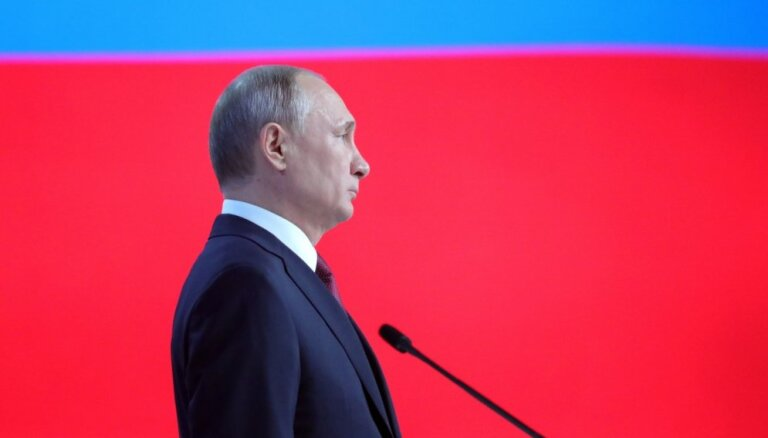Krievija mērķēs pa ASV un valstīm, kas izvietos amerikāņu raķetes, brīdina Putins