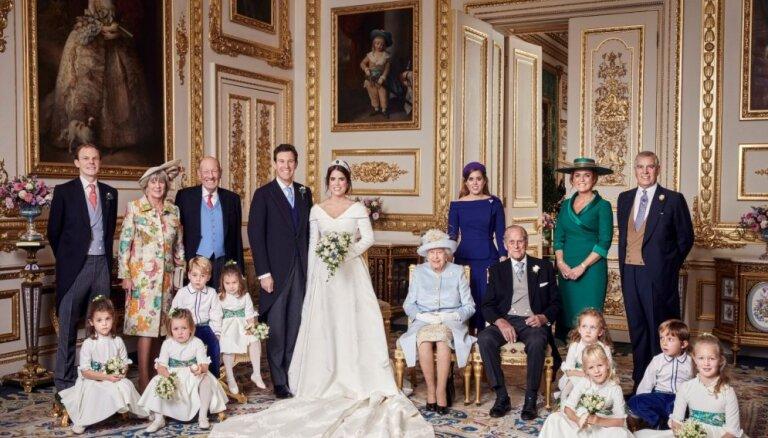 Karaļnams publisko princeses Eiženijas kāzu oficiālos foto