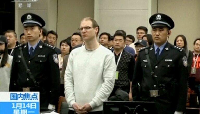 Kanādas pilsonim Ķīnā piespriež nāvessodu