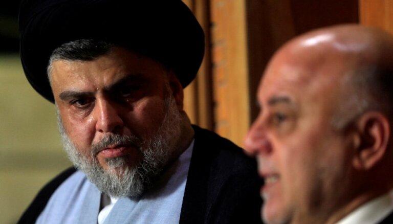 Apstiprināta Sadra uzvara Irākas parlamenta vēlēšanās