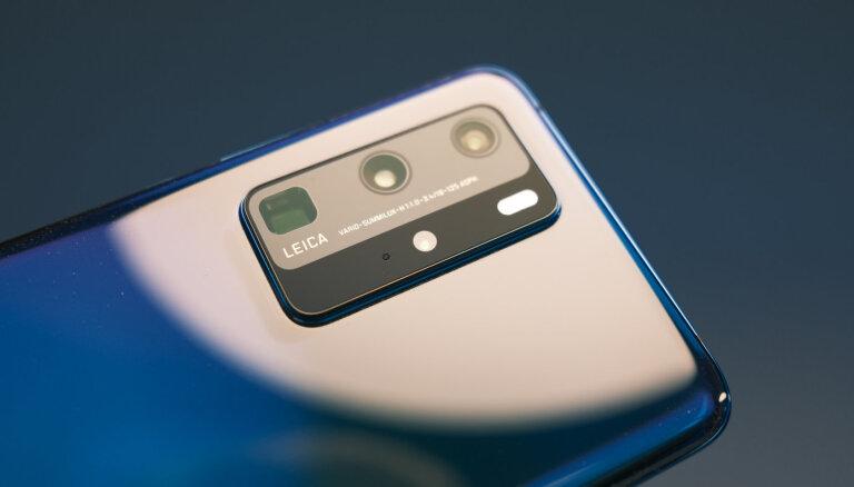 'Huawei' piesaka P40 – vēl spējīgākus viedtālruņus joprojām bez 'Google' atbalsta