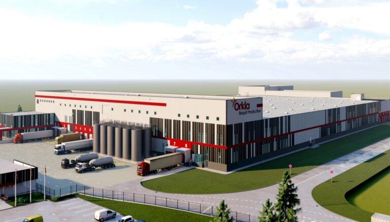 В Адажи началось строительство крупнейшего в регионе производства Orkla