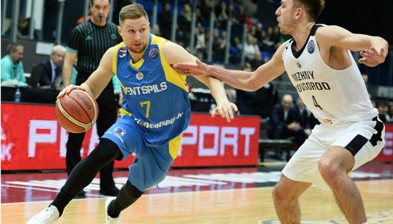 'Ventspils' basketbolisti atvadās no izredzēm sasniegt Čempionu līgas 'play-off'
