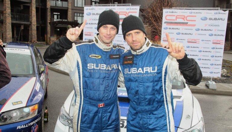 'Rally Liepāja' ar unikālu Latvijā būvētu rallija auto startēs desmitkārtējs Kanādas čempions