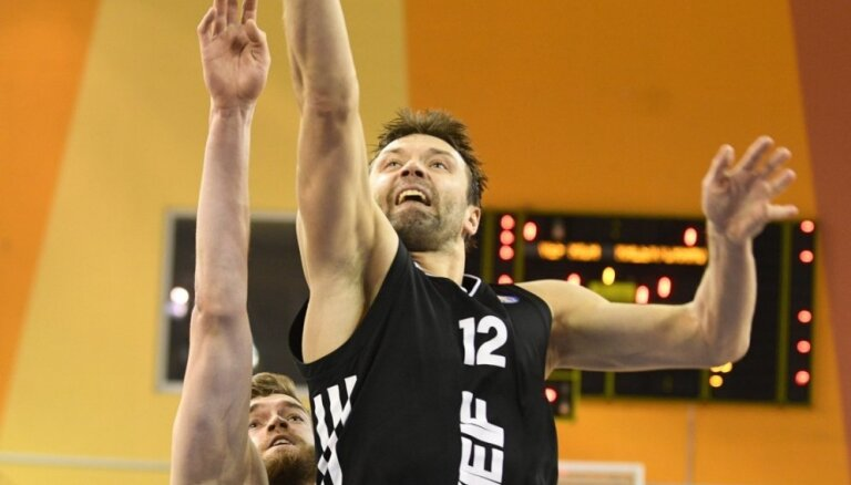 'VEF Rīga' pārvar 'Jūrmalas' pretestību; 'Jēkabpils' paliek ārpus izslēgšanas turnīra
