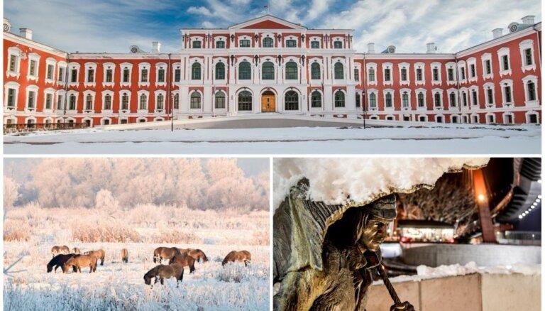 Ne tikai ledus skulptūras: ko vēl bez festivāla brīvdienās apskatīt Jelgavā