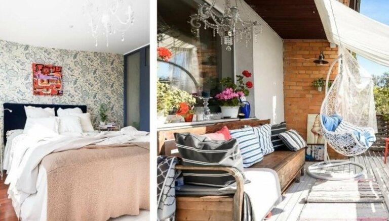 No ārpuses necila padomju laika māja – iekšpusē omulīgs trīsstāvu dzīvoklis