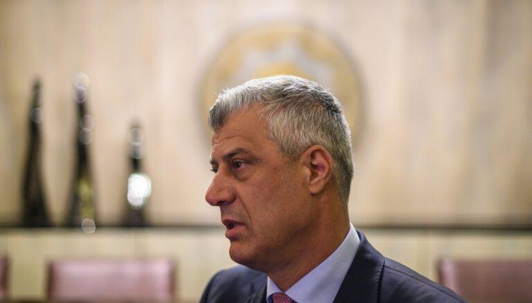 Kosovas prezidentam izvirzītas apsūdzības kara noziegumos