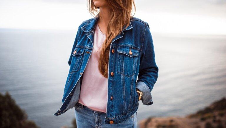 11 idejas, kā pavasarī valkāt universālo džinsa jaku