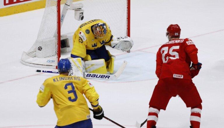 Video: Pasaules hokeja čempionāta grupu turnīra pēdējās dienas skaistākie momenti