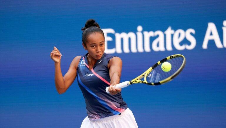 'US Open': Kanādas jaunie tenisa talanti turpina izcīnīt pārsteidzošas uzvaras