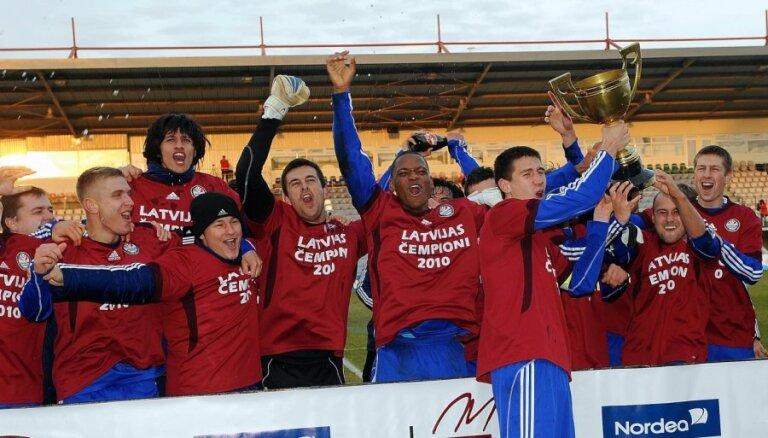 Spēcīgākie futbola klubi paši plāno rīkot Latvijas čempionātu