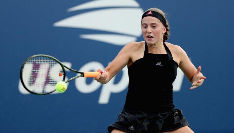 US Open: Остапенко выиграла второй трехсетовый матч, дальше — Шарапова