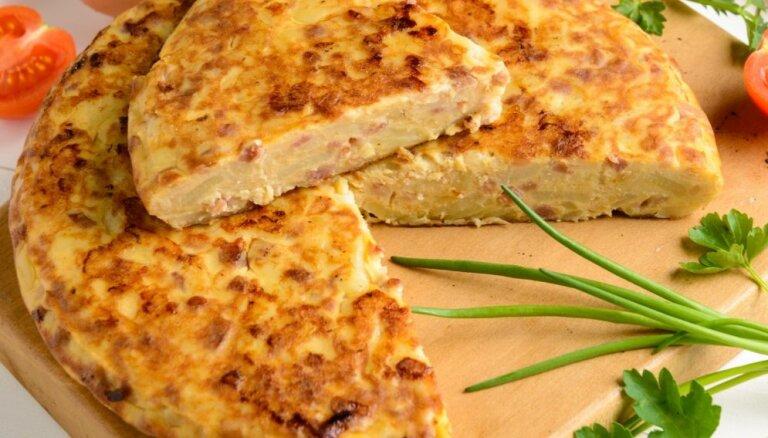 Картофельный омлет Тortilla de patatas по-испански