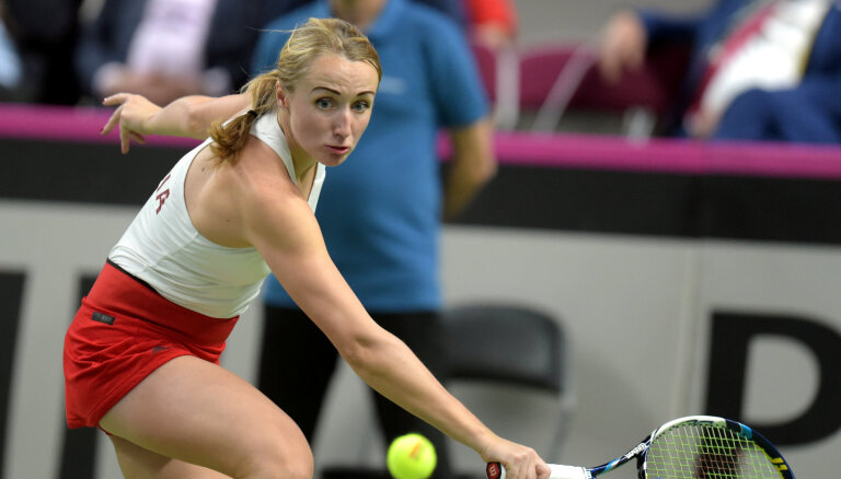 Marcinkevičai piešķir Jūrmalas WTA turnīra 'wild card'; Vismane un Bartone spēlēs kvalifikācijā