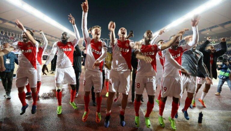 Futbola klubs 'Monaco' šovasar transfēros nopelnījis 194 miljonus eiro
