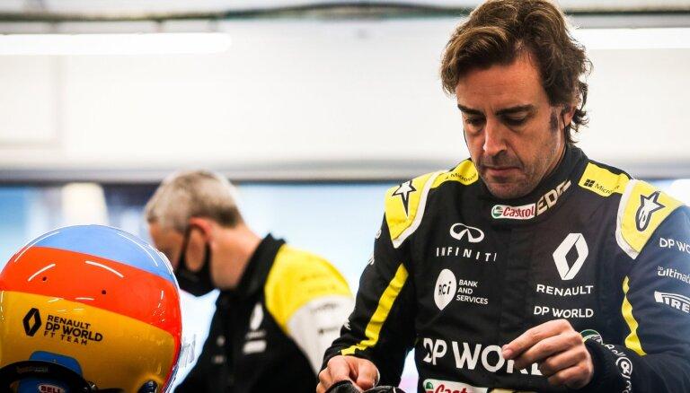 Alonso aizvadījis testus ar 'Renault' pirms savas atgriešanās F-1