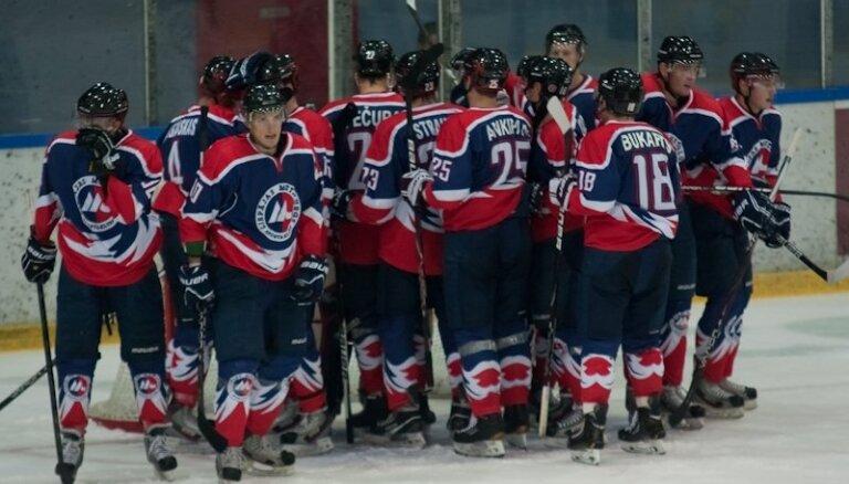 'Liepājas metalurga' hokejisti pēdējā izbraukuma spēlē šogad uzvar 'Šahtjor' komandu